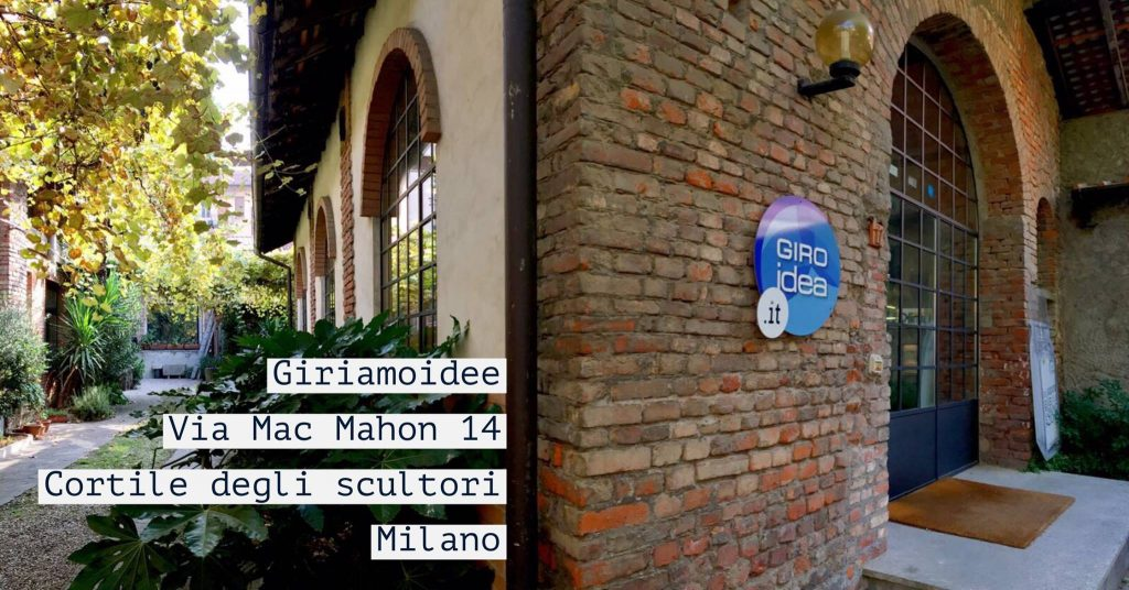 La sede di Giroidea, Agenzia di Grafica e Comunicazione a Milano
