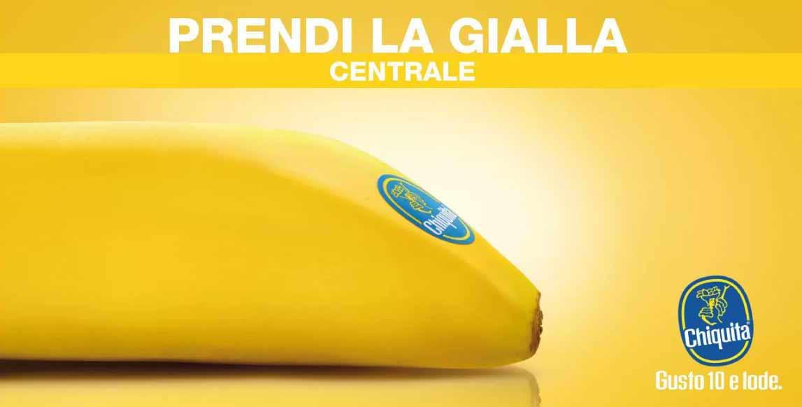 Associare la metro linea gialla ad una banana: geniale