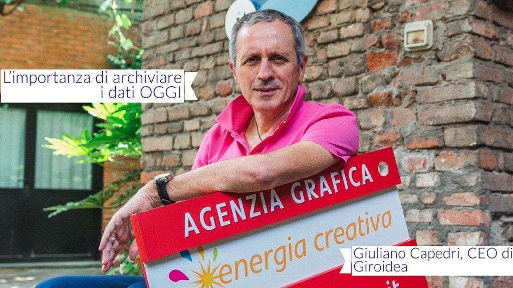 Guardando all'attività di Web Agency di Giroidea riflettiamo sull'importanza del Backup con Giuliano Capedri.