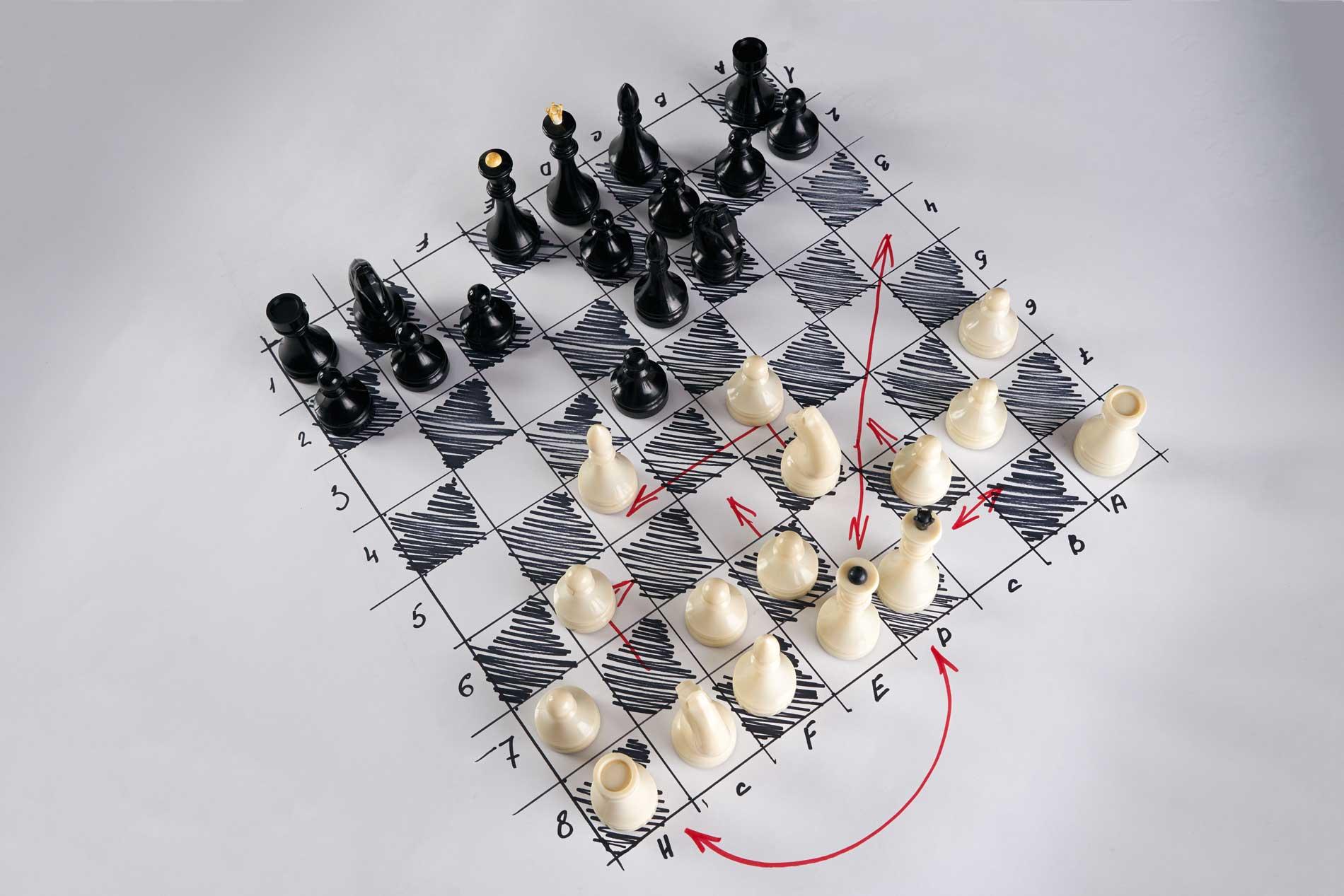 Un buon copy è come un giocatore di scacchi. Prevede e precede.